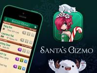 Santa's Gizmo santas gizmo santa app icon interface christmas shopping sale store gift