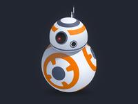 BB-8 saber light droid d2 r2 wars star bb8 8 bb