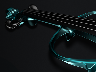 Violin 3d violin instrument string music