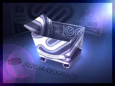 Squarespace Origami Cart bill money origami commerce icon shopping cart squarespace squarespace commerce
