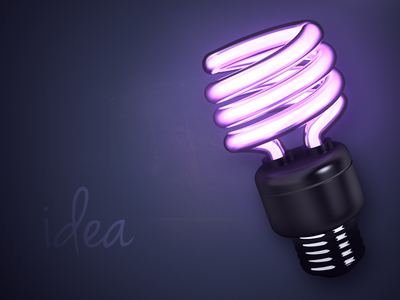 idea // Caption Contest! idea light bulb lightbulb caption contest florescent