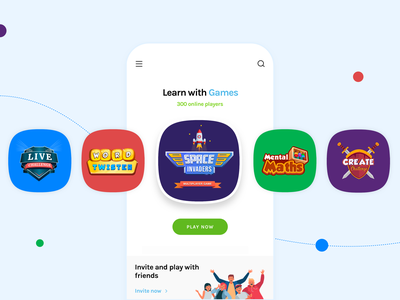 Toppr Edu Games future educational live challenge challenges math game word game space invaders games design games logo education app colorful delightful fun edu games education