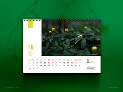 2019 Wall Calendar designiasi nature photography layout designer design freelancer graphicdesign wall calendar printdesign