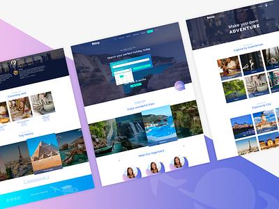 Politrip Travel Website Design - Shot 2 webdesigner userinterface ui travelwebsite travel website websitedesign freelancer designiasi designer