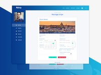 Politrip Travel - Admin Dashboard - Shot 2