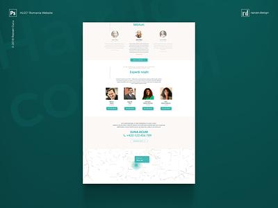 HLCC® Romania - Website Design - Shot 2 websitedesign webdesigner website ux userinterface userexperiencedesign userexperiance ui travelwebsite travel freelancer designiasi designer dashboard