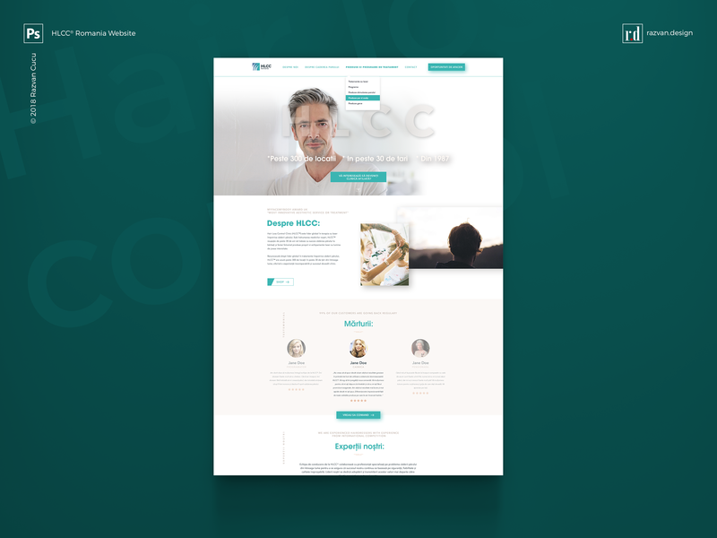 HLCC® Romania - Website Design - Shot 1 websitedesign webdesigner website ux userinterface userexperiencedesign userexperiance ui travelwebsite travel freelancer designiasi designer dashboard