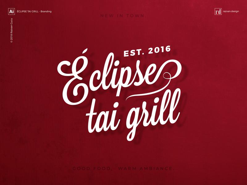 Éclipse tai grill - Branding - Shot 1