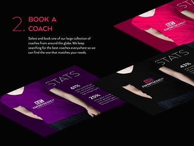 Esportscoach - Branding - Shot 3 players coaching coach player game play logo branding esports gaming