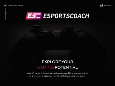 Esportscoach - Branding - Shot 1