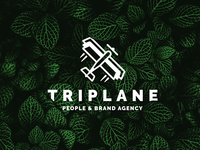 Triplane: People & Brand Agency - Logo