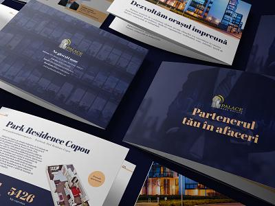 Palace Real Estate - Company Brochure freelancer designer brochure company estate real real estate palace