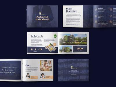 Palace Real Estate - Company Brochure - shot 2 branding corporate realestate design brochure designer