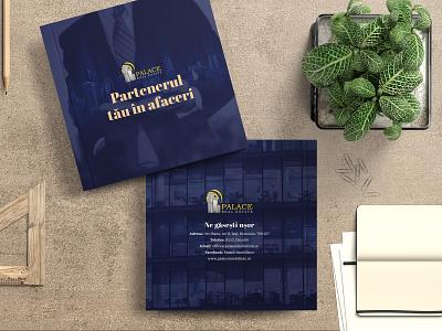Palace Real Estate - Company Brochure - Square version corporate printdesign print designer brochure design brochure realestate real estate