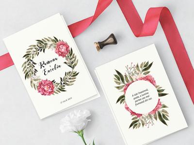 Ramona & Eusebiu Wedding Stationary