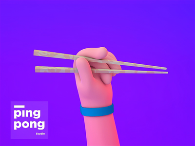Handfull of food 🍔🍣🍦 ice cream burger sushi food cinema 4d hand motion graphics cute 3d graphic design design motion illustration animation