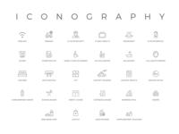 Iconography- Hotel Icons