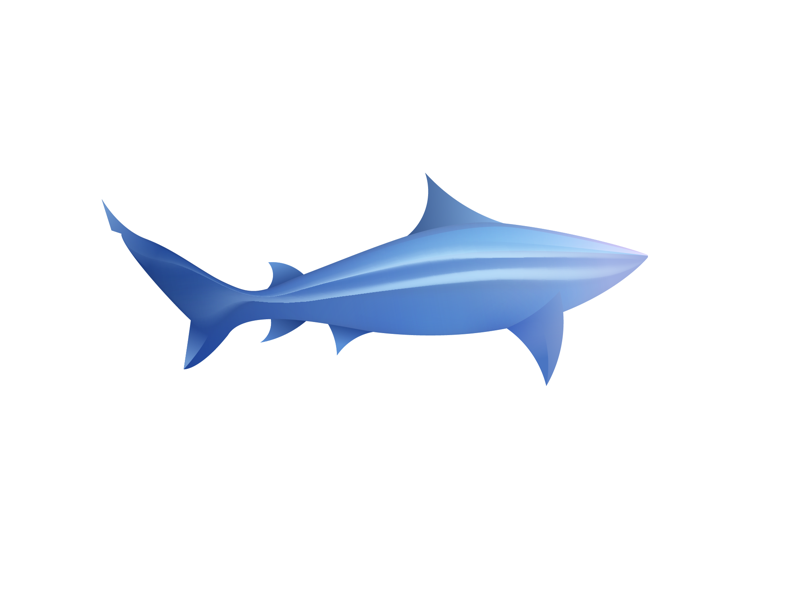 Shark design ai shark animal logo