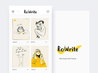 RoWrite app