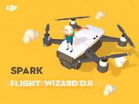 Spark Flight Wizard DJI