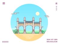 Sun Yat Sen Mausoleum