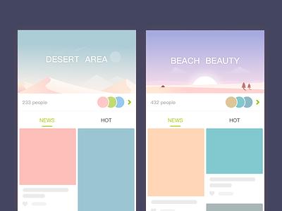 UI design sketch app ui