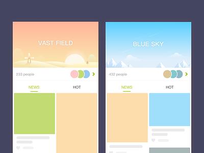 APP DESIGN sketch app ui