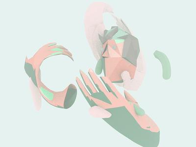 Organic Loss digital loss nature 3d illustration