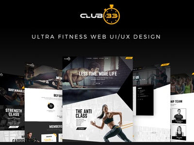Web Design for Fitness GYM