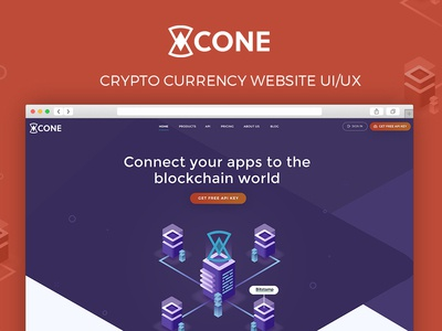 Web Design for CryptoCurrency API