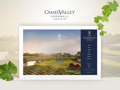 eCommerce Web Design for Wine Company