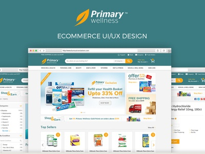 eCommerce UI/UX Design