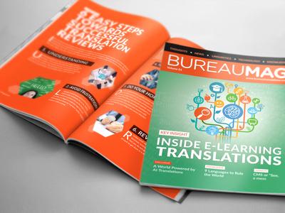 Magazine Design for Translation Company