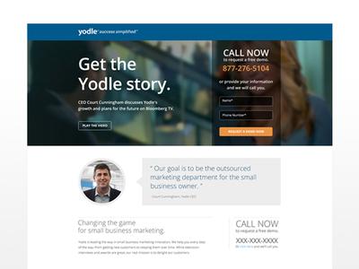 Yodle SEO Landing Page