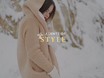 Identity — Clothing stylist platform logo branding stylist clothing fashion
