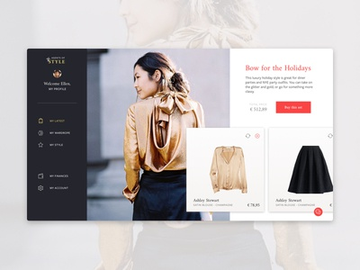 Stylist platform — getting a set of clothes