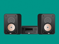Illustration Challenge #2 - Stereo System