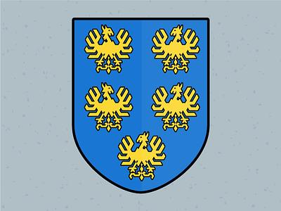 Illustration Challenge #9 - Coat of Arms heraldry coat of arms daily illustration illustration challenge