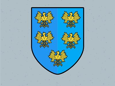 Illustration Challenge #10 - Coat of Arms heraldry coat of arms daily illustration illustration challenge