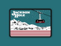 Jackson Hole Gondola Patch