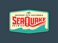 SeaQuake Brewing Patch Concept
