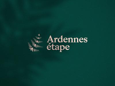 Ardennes Etape - Rebranding branding concept branding and identity rebranding logo design nature logodesign logotype logo branding dogstudio logomark