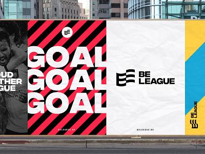 BeLeague - Branding ( pitch) dogstudio branding design identity design identity brand design branding