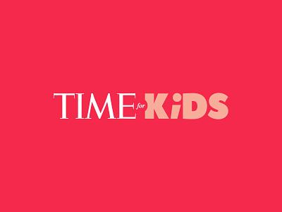 Time For Kids - Rebranding by Dogstudio brand design kids time dogstudio branding rebranding
