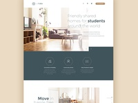 Cohabs - Landing page