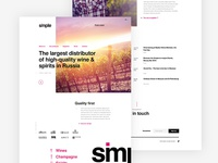 Simple - Homepage