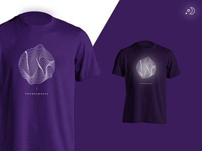 KIKK Festival 2014 - Shirt interference glitch dark phosphorescent shirt kikk festival
