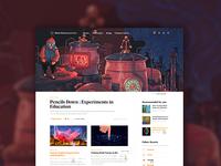 Quanta Magazine - Homepage