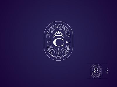 Chaumet - New Stamp logo branding jewelry luxury chaumet hallmark stamp dogstudio print