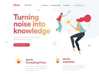 Elium homepage 2x by dogstudio